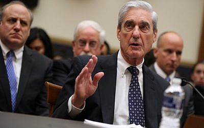 Former Special Counsel Robert Mueller testifies before the House Judiciary Committee about his report on Russian interference in the 2016 presidential election in the Rayburn House Office Building July 24, 2019 in Washington, DC.  (Chip Somodevilla/Getty Images/AFP)