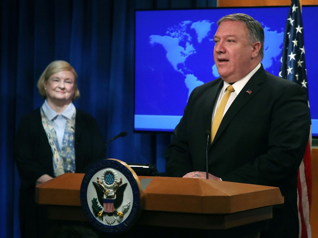 Pompeo launches commission to study human rights role US 02:20