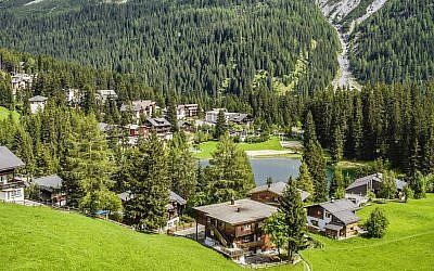 Arosa in the summer offers some stunning views. (Olaf Protze/LightRocket via Getty Images via JTA)