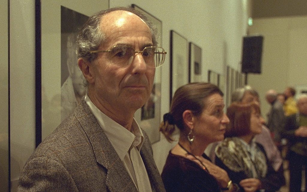 Philip Roth in Aix en Provence, France, in 1999. (Pascal Parrot/Sygma/Sygma via Getty Images, JTA)