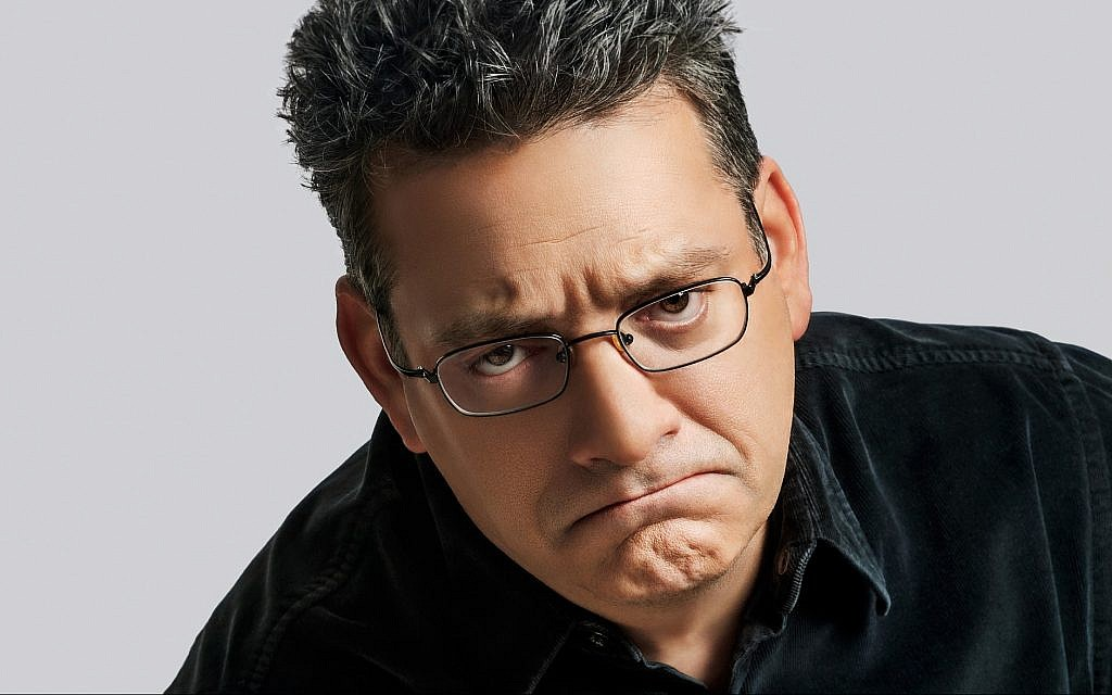 Andy Kindler has frequently referenced the Holocaust in his comedy. (Courtesy of Just for Laughs/via JTA)