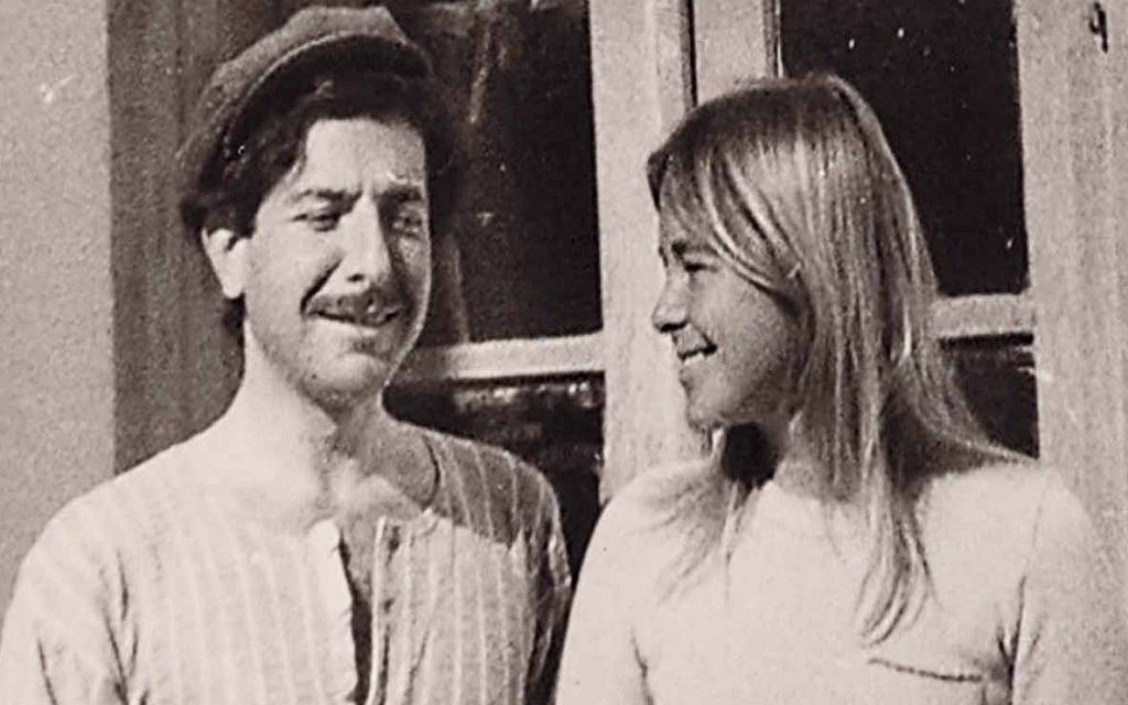 Leonard Cohen and Marianne Ihlen seen in the documentary 'Marianne & Leonard: Words of Love' (Courtesy Roadside Attractions)