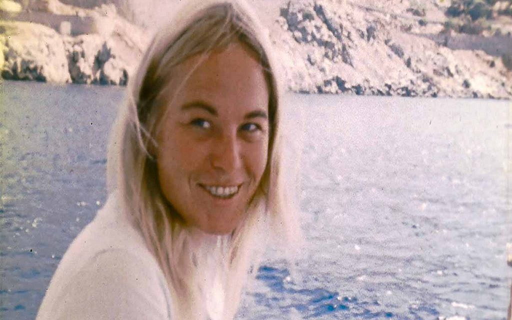 Marianne Ihlen seen in the documentary 'Marianne & Leonard: Words of Love' (Courtesy Roadside Attractions)