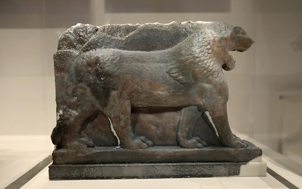 3-D printing recreates ancient sculpture destroyed by Islamic State