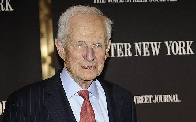 In this April 26, 2010 file photo, former New York City District Attorney Robert Morgenthau attends a gala launch party in New York. (AP Photo/Stephen Chernin, File)