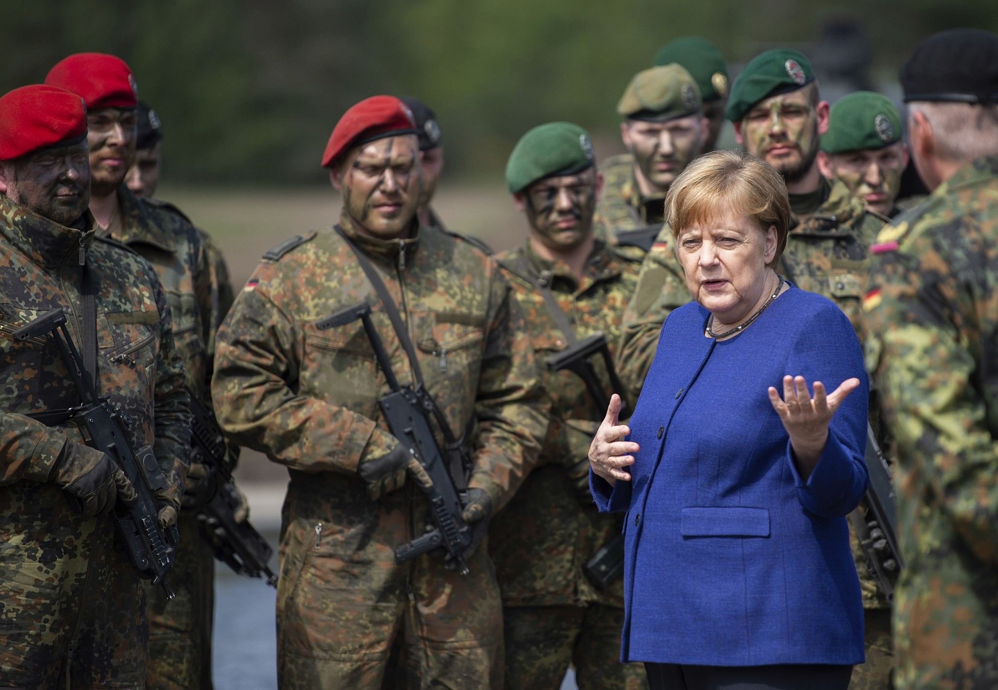 United States  call for Syria troops divides German coalition