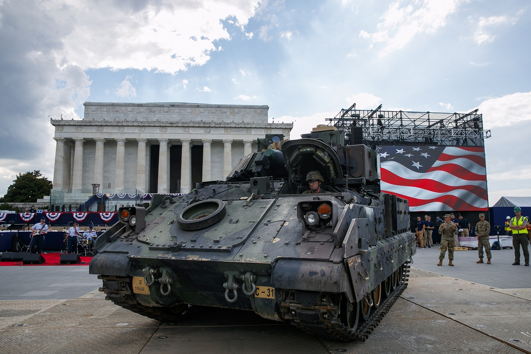As Trump holds divisive July 4 military parade, here's why
