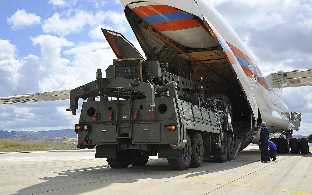 US weighing how to punish ally Turkey over Russian S-400 deal   The