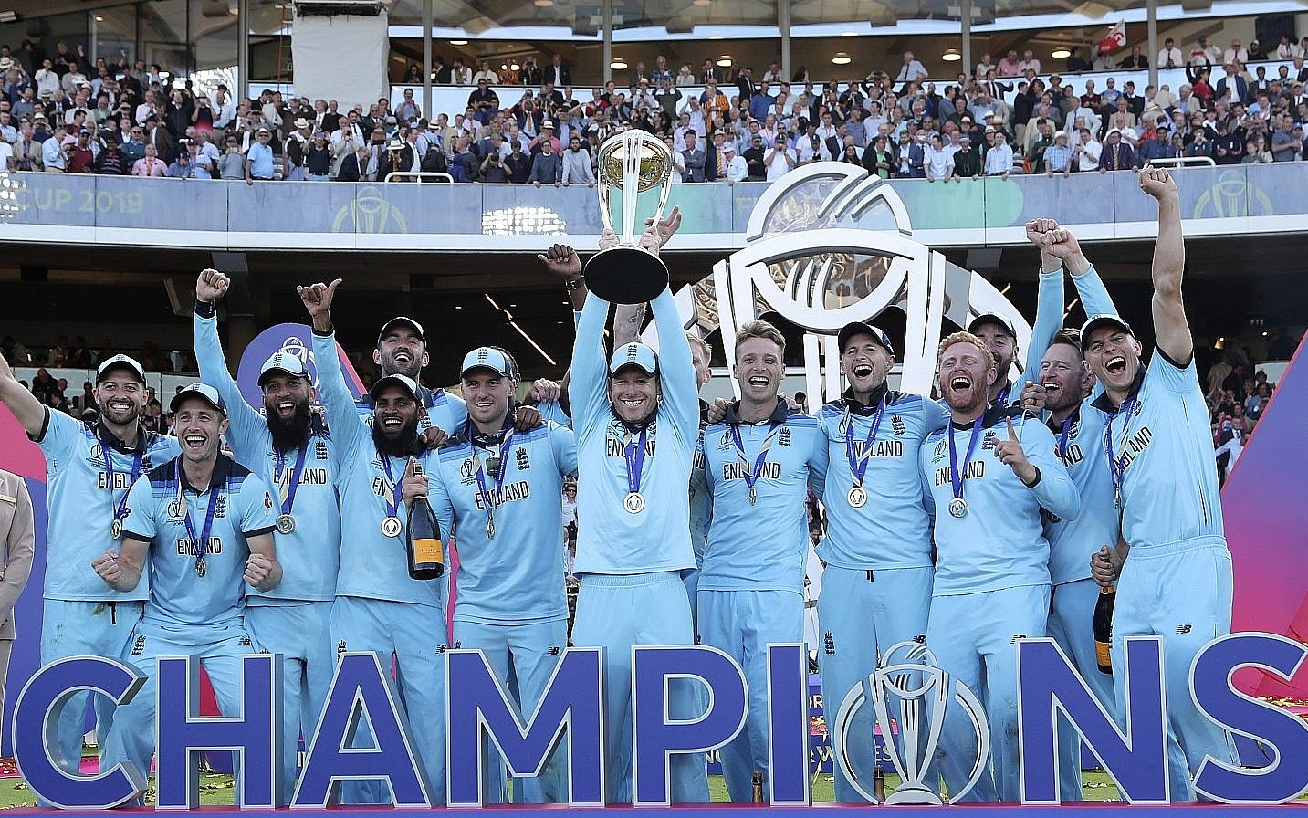 How an England team of many colors conquered the world at cricket's grand  final | The Times of Israel