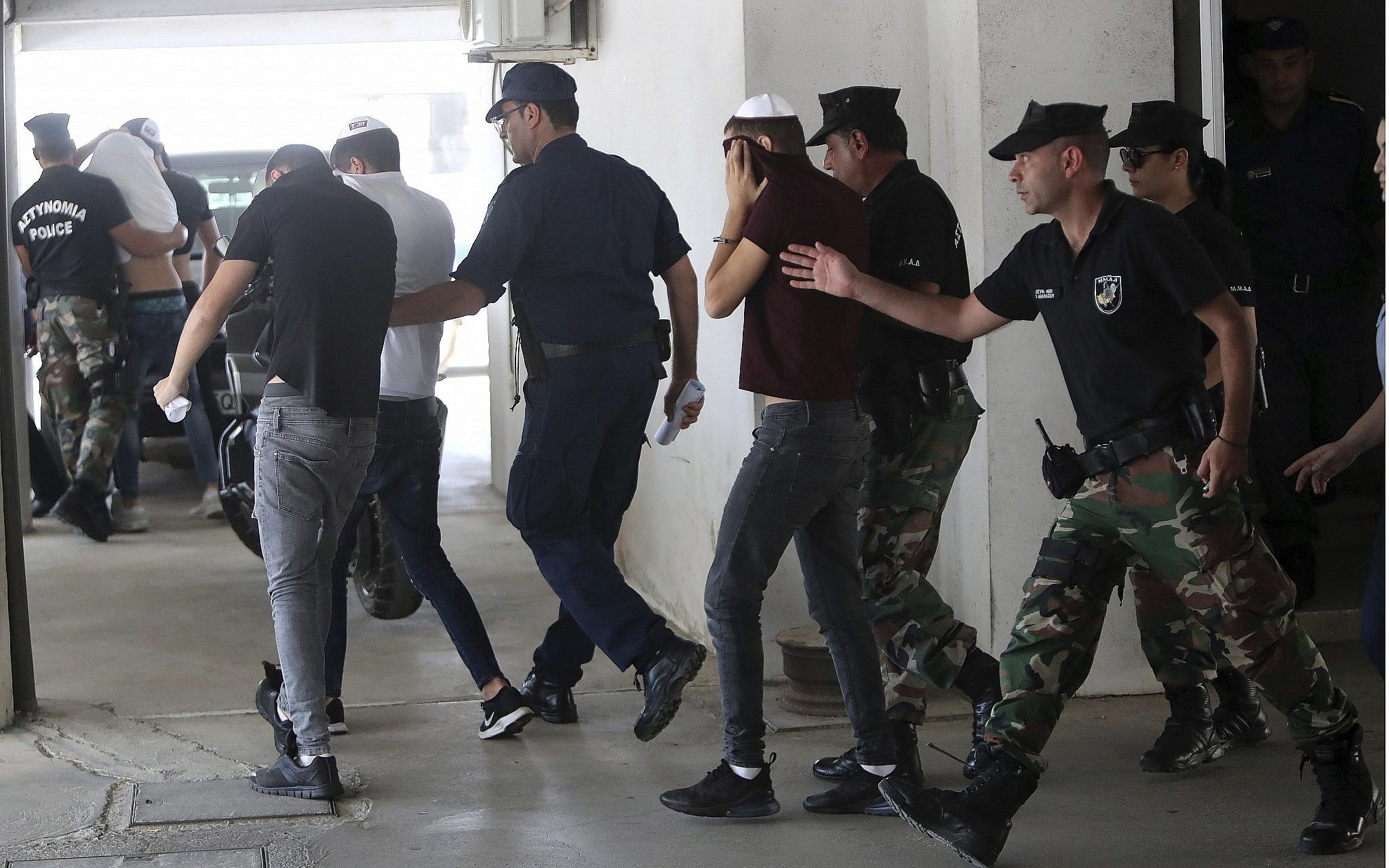 Cyprus Releasing All Israeli Suspects in Alleged Gang-Rape of UK Tourist
