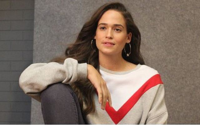 """Actress Niv Sultan who will portray the character Tamar Rabinyan, a Mossad computer hacker-agent, in the new Israeli action TV series """"Tehran."""" (Facebook)"""
