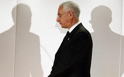 David Triesman, shown in 2010. (Sang Tan/PA Images via Getty Images via JTA)