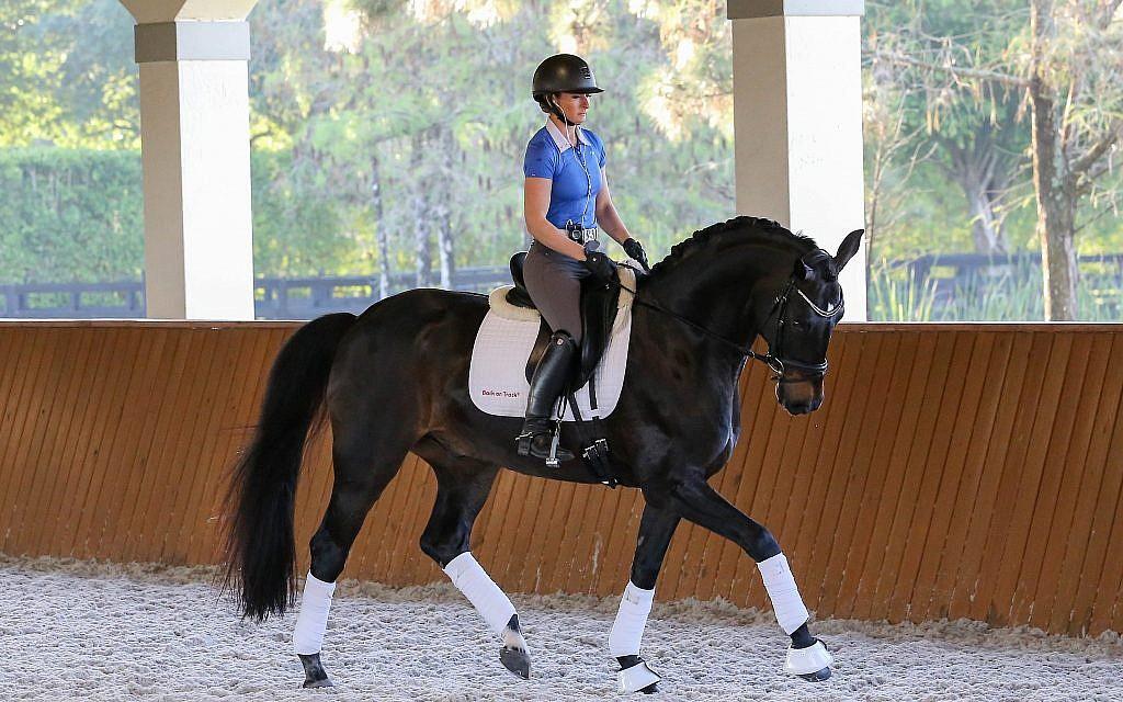 US-Israeli dressage rider Micah Deligdish. (Emma Miller)