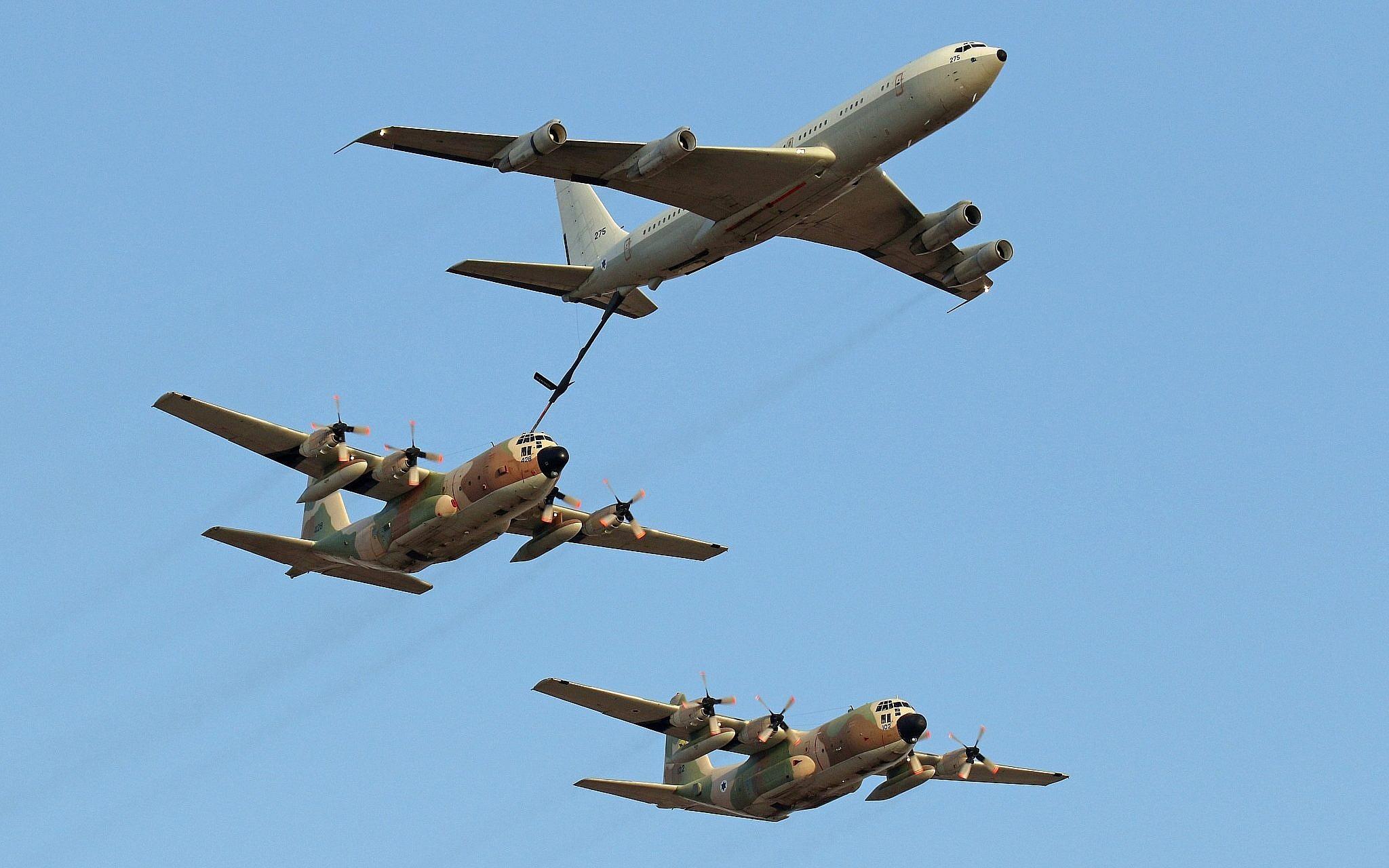 IAF returns transport, refueling planes to service after maintenance