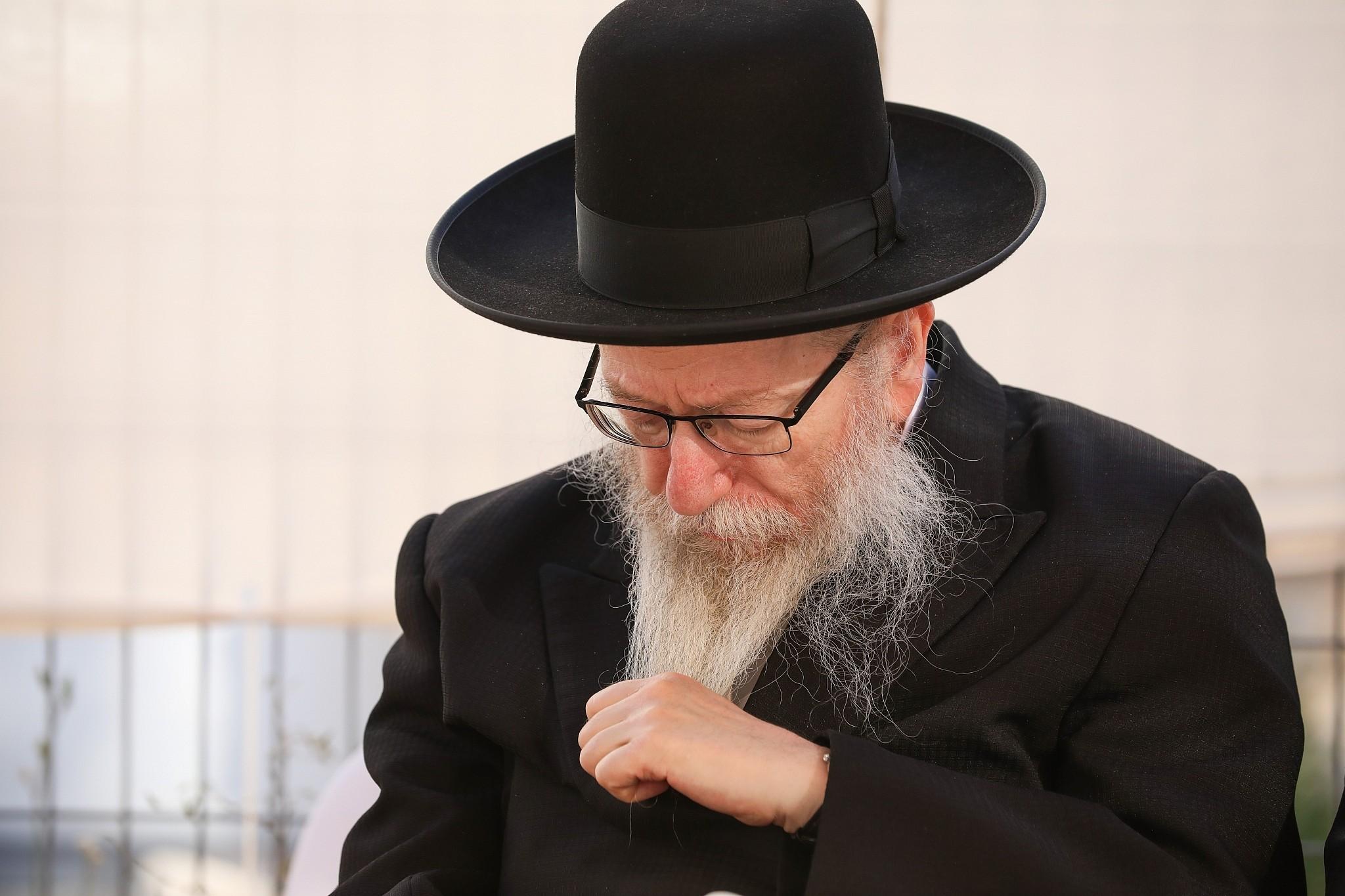 Israeli police recommend indicting United Torah Judaism chief