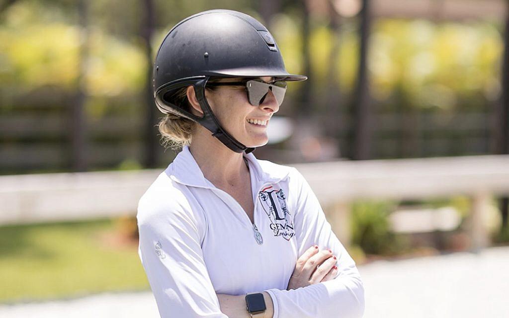 US-Israeli dressage rider Micah Deligdish. (Sara Malanaphy)