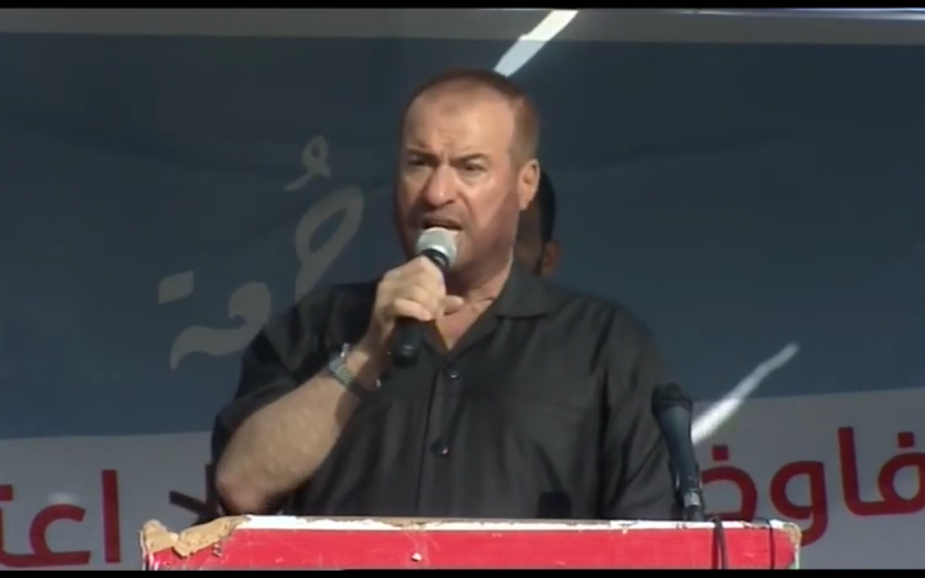 Senior Hamas official calls on members of Palestinian diaspora to kill Jews