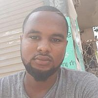 Ethiopian-Israeli Solomon Tekah who was shot dead by an off-duty policeman in Kiryat Haim on June 30, 2019. (Courtesy)