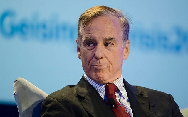 Howard Dean speaks in Danville, Pennsylvania, November 9, 2017. (AP Photo/Matt Rourke)