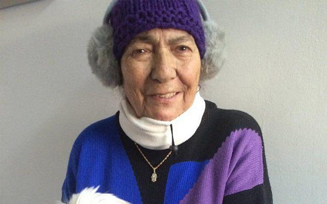 Rivkah Jamil, 89, died on July 7, 2019 from injuries suffered while running to a bomb shelter in southern Israel in May during an onslaught of rocket fire from the Gaza Strip. (Courtesy)