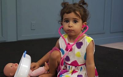 A crowdfunding campaign raised over $2 million dollars for Eliana Cohen to treat a rare disease. (YouTube screenshot)