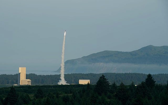 Israeli Arrow interceptor missile completed flight test in Alaska