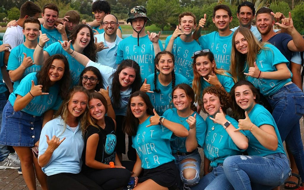 2,500 Jewish teens from US and around the world meet for one night in Israel