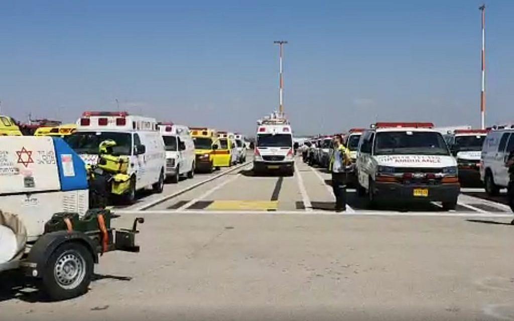 Plane makes safe emergency landing at Israel's Ben Gurion airport