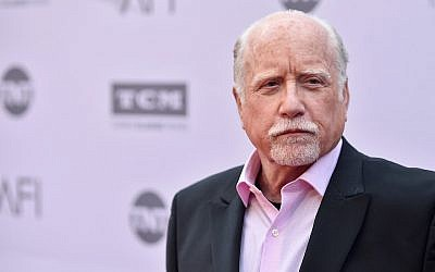 Actor Richard Dreyfuss arrives at American Film Institute's 44th Life Achievement Award Gala Tribute to John Williams at Dolby Theatre on June 9, 2016 in Hollywood, California. (Alberto E. Rodriguez/Getty Images for Turner via JTA)
