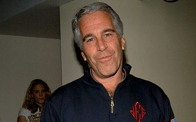 Jeffrey Epstein in New York City in 2005. (Neil Rasmus/Patrick McMullan via Getty Images/via JTA)