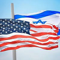 Illustrative image of the US and Israeli flags (3dmitry; iStock by Getty Images)