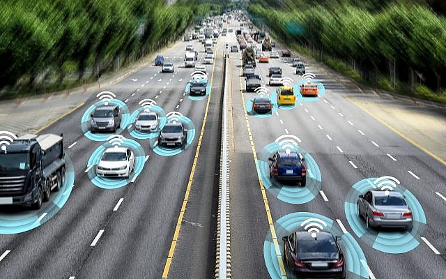 Illustrative image of smart cars, autonomous vehicles and smart transportation (ae Young Ju; iStock by Getty Images)