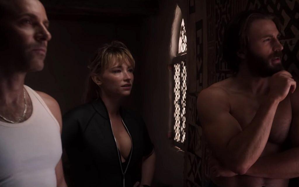 Screenshot from 'The Red Sea Diving Resort.' (Netflix)