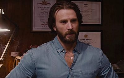Chris Evans in a screenshot from 'The Red Sea Diving Resort.' (Netflix)