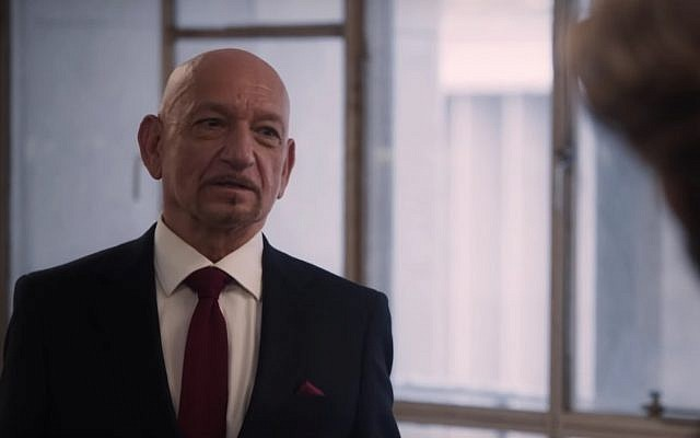 Sir Ben Kingsley in a screenshot from 'The Red Sea Diving Resort' trailer. (Netflix)