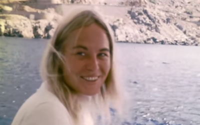 Marianne Ihlen seen in the documentary 'Marianne & Leonard: Words of Love' (YouTube screenshot)