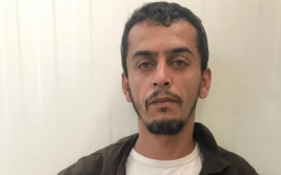 Fadi Abu al-Sabah, a Gaza resident who Shin Bet said entered Israel with a humanitarian permit while planning to set up an explosives lab in the West Bank (Shin Bet)