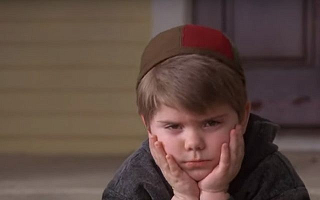 A scene from the 1994 movie 'Little Rascals.' (screen capture: YouTube)