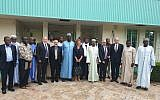 A delegation of representatives from Israeli ministries meet with Chadian officials in Chad, August 2019. (Economy and Trade Ministry)