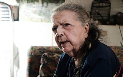 Madeleine Riffaud, 94, speaks about the liberation of Paris on 1944 during an interview with the AFP at her appartment in Paris, on July 26, 2019. (Natalie Handel / AFP)