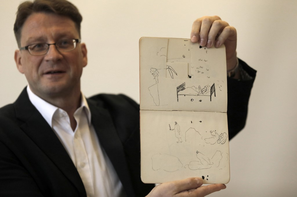 Franz Kafka archive reclaimed by Israel national library