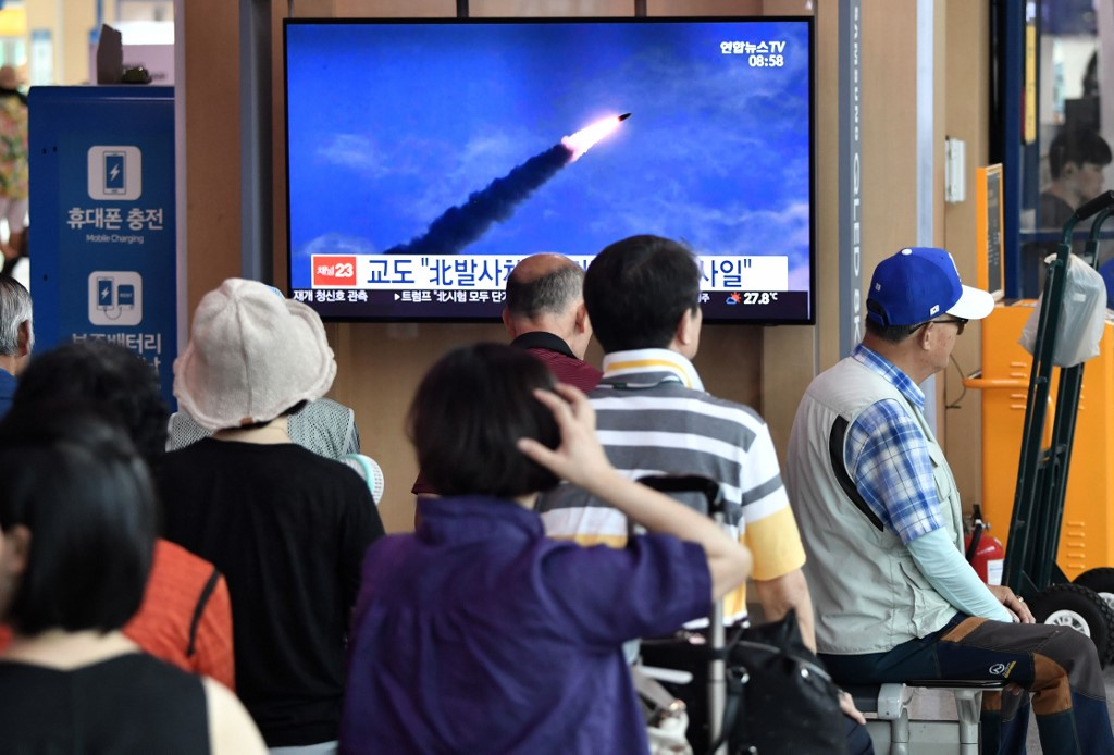 North Korea Fires Two Missiles Off Its Coast
