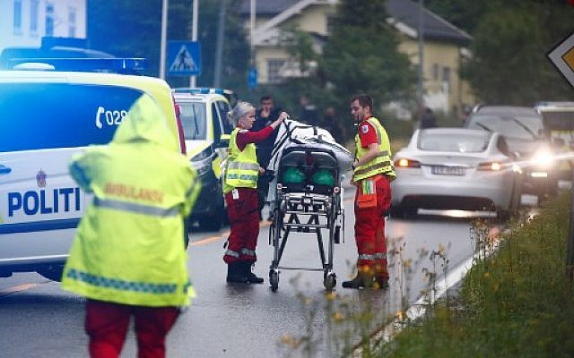 Norway mosque shooting suspect won't talk   The Times of Israel
