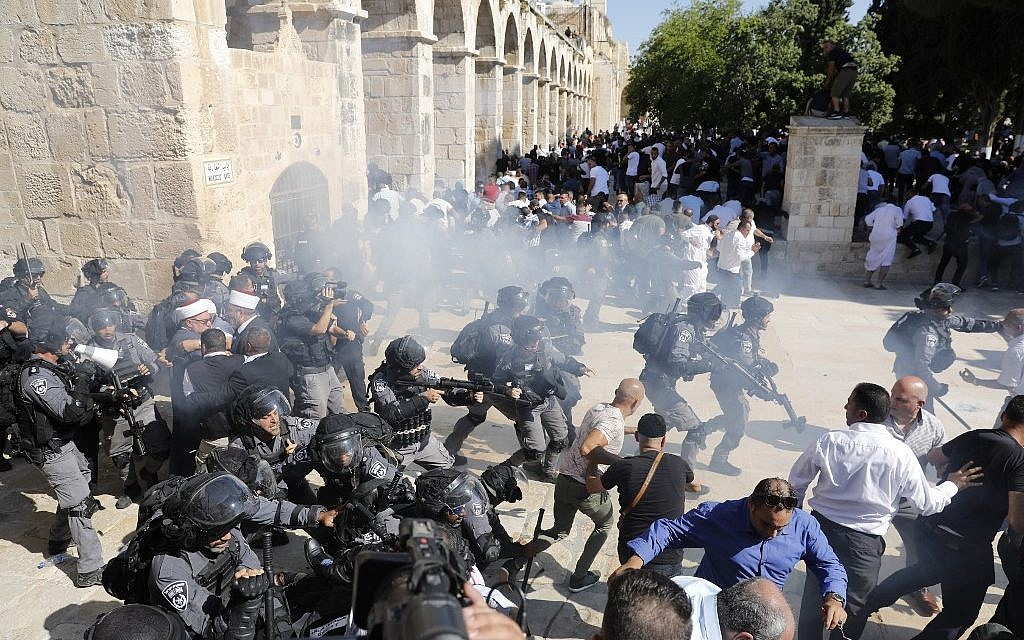 Jordan blasts Israel for using force in Temple Mount clashes