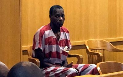 Alvin Kennard sits in the courtroom before his hearing in Bessemer, Alabama on August 28, 2019. (Ivana Hrynkiw/The Birmingham News via AP)