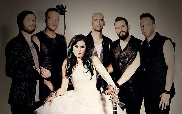 Dutch band Within Temptation. (Facebook)