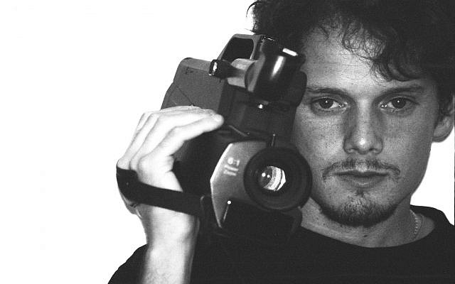Yelchin was also an avid photographer and avant-garde filmmaker. (Lurker Films/via JTA)