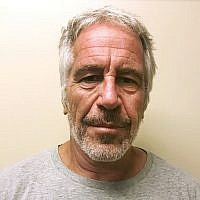 This March 28, 2017 photo provided by the New York State Sex Offender Registry shows Jeffrey Epstein. (New York State Sex Offender Registry via AP, File)