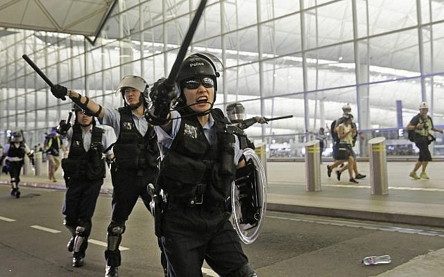 Image result for Flights Resume At Hong Kong Airport After Protest Chaos