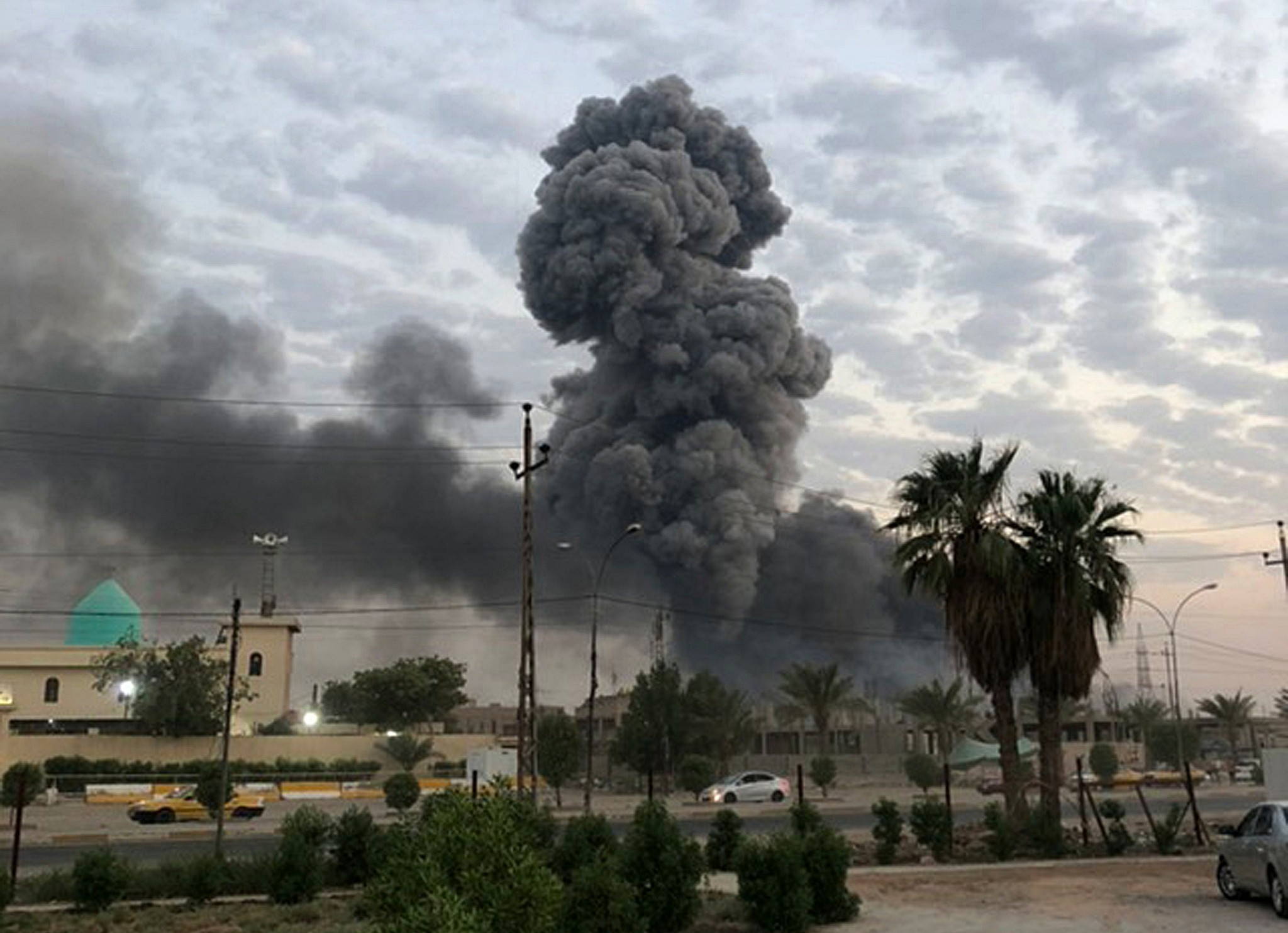 New Mysterious Blast Rocks Militia Arms Depot in Iraq